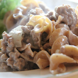 Hamburger Stroganoff With Sour Cream Recipes.