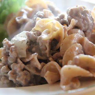 Hamburger Stroganoff Cream Of Mushroom Soup Recipes.