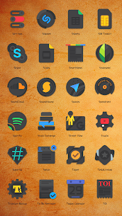 CRISPY DARK – ICON PACK (MOD, Paid) v2.9.9.9 3