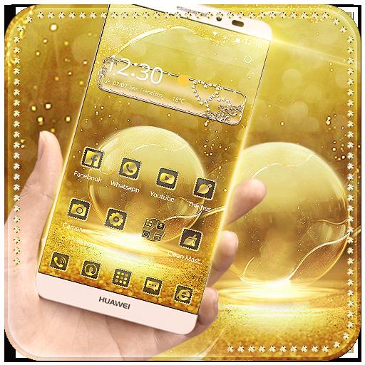 Theme Golden Bubble
