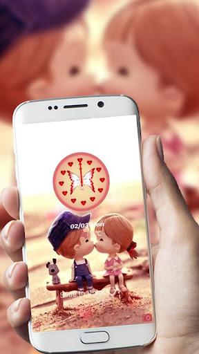 Love kiss sweetness theme 1.1.6 screenshots 2