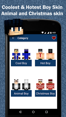 Free Boy Skins for Minecraft - screenshot