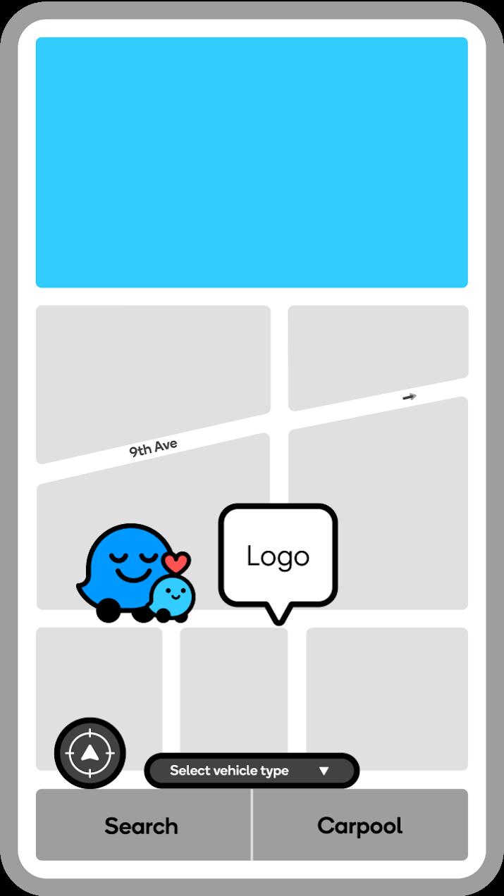 Waze map