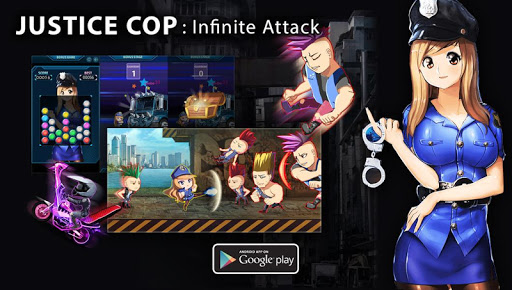 Justice girl : Infinite Attack