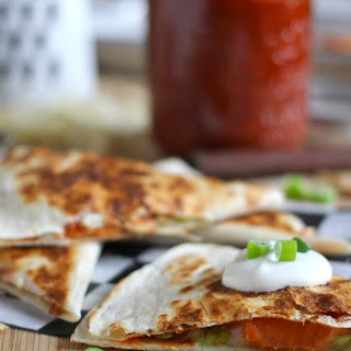 Yam and Pepita Quesadillas