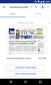 bz Baselland E-Paper screenshot 0