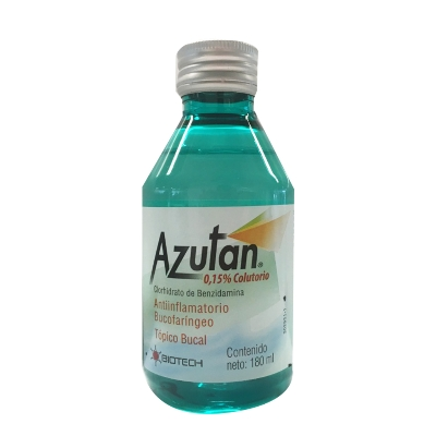 Bencidamina Azutan Colutorio X180Ml Biotech