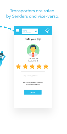 Jojo: Fast and Secure Delivery 2.0.6 Screenshots 8
