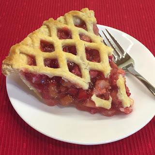 Rhubarb Pie.