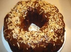 Inside-Out German Chocolate Bundt Cake