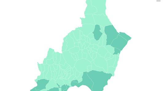 Solo 13 municipios de la provincia de Almería mantendrán las franjas horarias