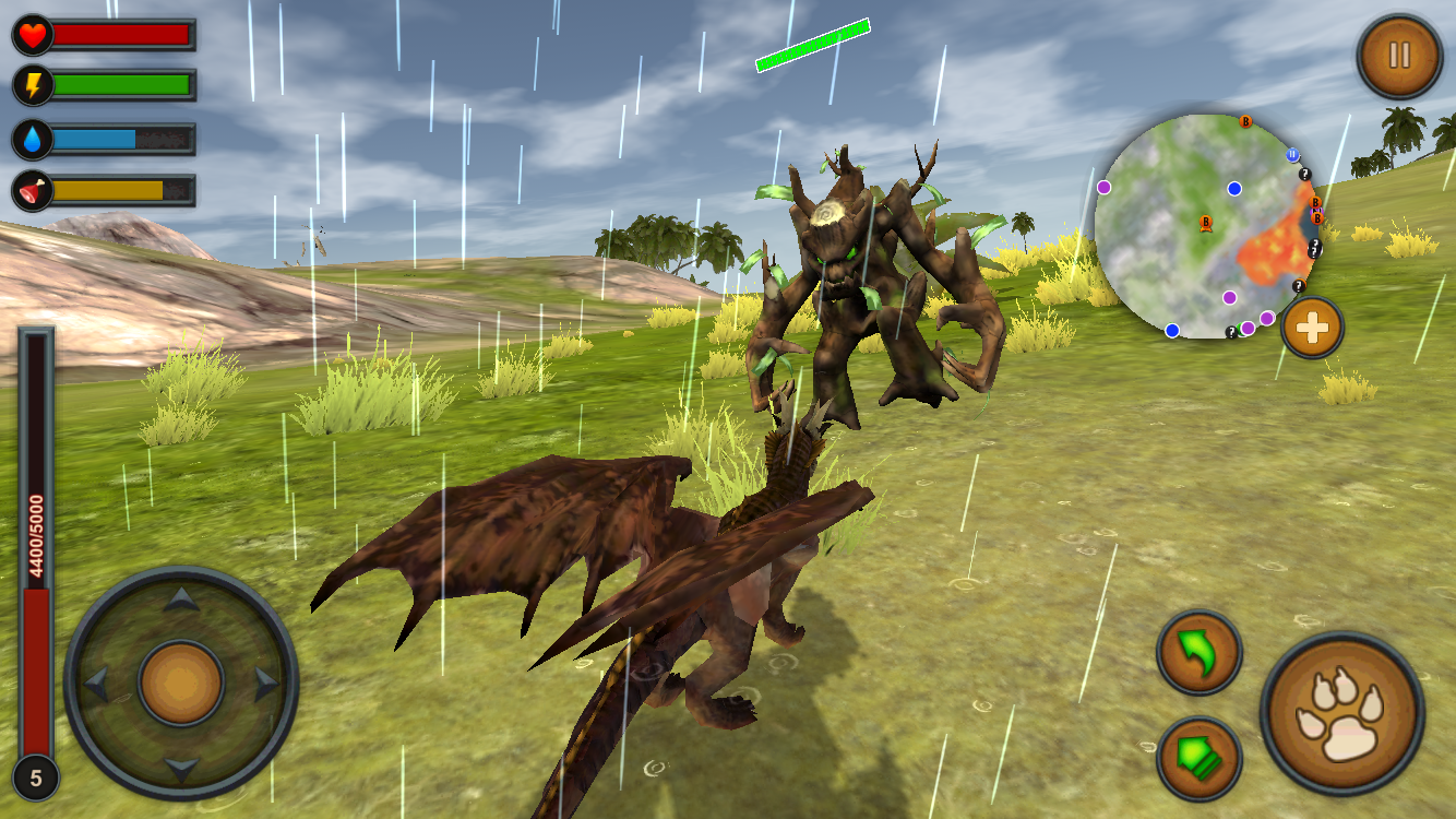 Dragon Multiplayer 3D- screenshot