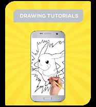 How To Draw Pokemon Characters - screenshot thumbnail 01
