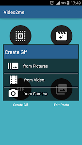 Video2me Pro: Video, Gif Maker v0.9.9.5 b69