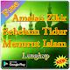 Zikir Sebelum Tidur Menurut Islam (app)