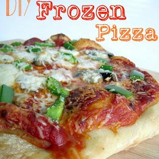 DIY Frozen Pizzas