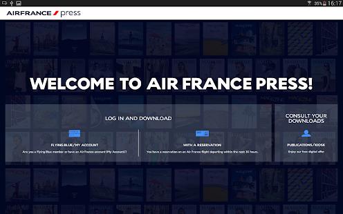 Air France Press- screenshot thumbnail