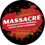 Speakeasy Massacre Belgian Imperial Stout With Cherries