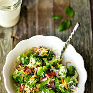 Broccoli Salad Recipe on the Light Side.