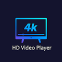 All Format 4K HD Video Player icon