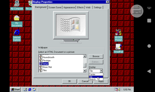 Win 98 Simulator 1.4.1 screenshots 15