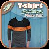 Men T-Shirt Fashion Photosuit