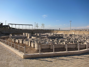 Photo: Scale model of Jerusalem (second temple period) at the Israel Museum