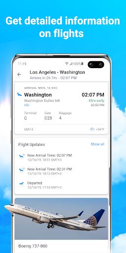 Planes Live - Flight Status Tracker & Radar screenshots 2