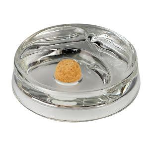 Pipaskfat i glas för 2 pipor