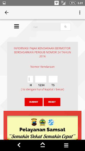 Samsat Online 2.0 screenshots 5