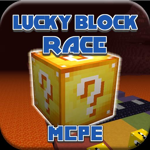 Map Lucky-Blocks Race 2 MCPE