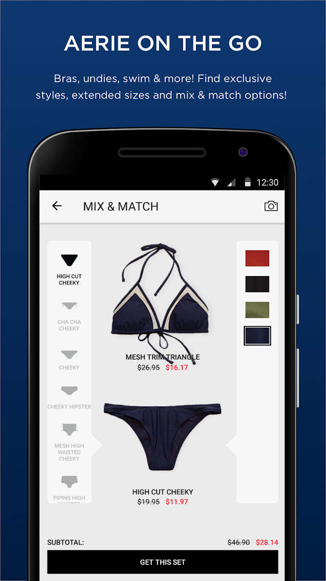 AEO|Aerie: Jeans, Dresses, Swimsuits & Bralettes Android 4