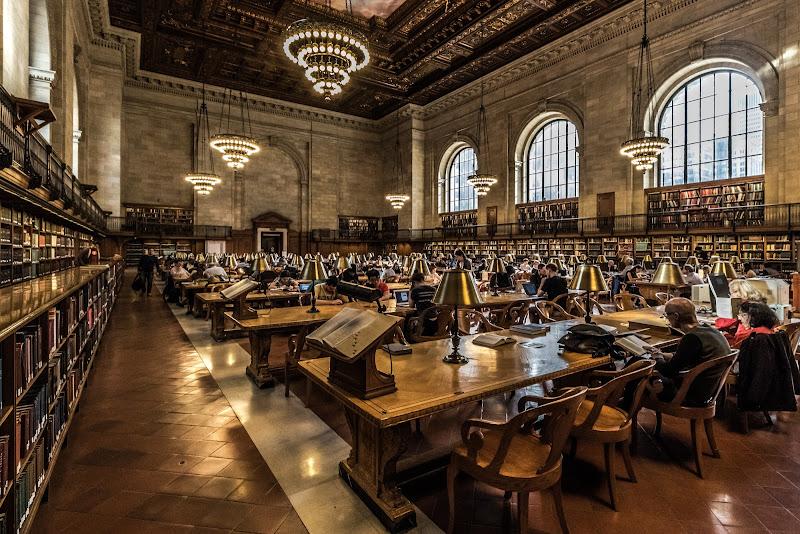 New York Public Library di VIC61