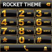 Theme Black Gold RocketDial