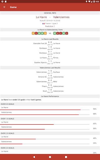 Football Tips & Stats - A Football Report 2.4 Screenshots 9