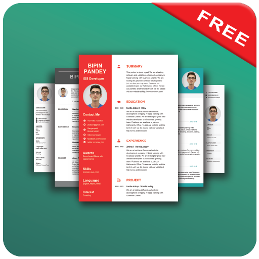 resume builder app free on google play reviews