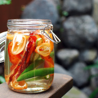 Bacon and Habanero Infused Vodka