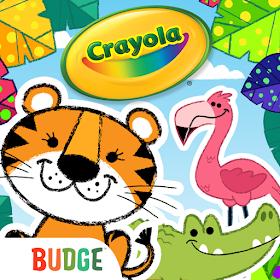 Разноцветные зверюшки Crayola