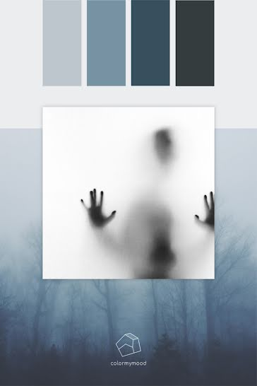 Color My Mood Spooky - Color Palette Template