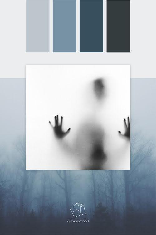 Color My Mood Spooky - Color Palette Template