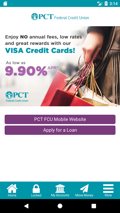 PCT Federal CU- screenshot