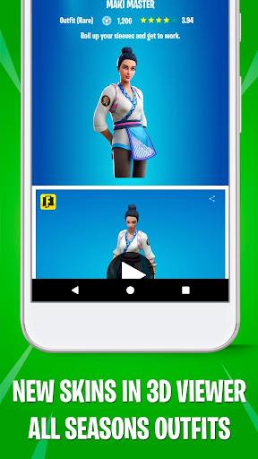Battle Royale Skins, Emotes & Daily Shop - FBRCat screenshot 5