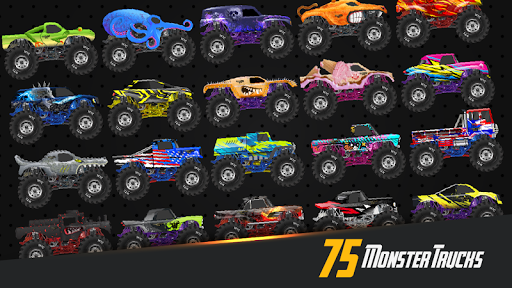 Code Triche Monster Truck Crot: Monster truck racing car games APK MOD screenshots 1