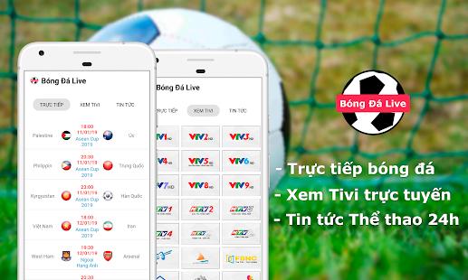 Bóng Đá Live - Bóng Đá TV - Xem bóng đá trực tiếp for PC-Windows 7,8,10 and Mac apk screenshot 1