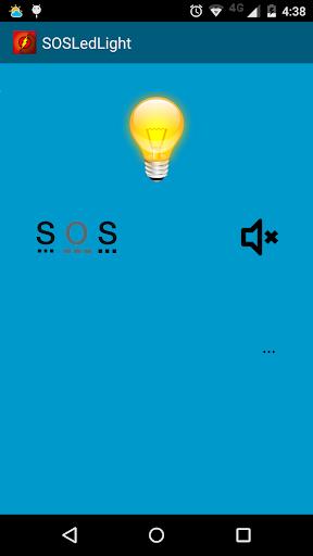 LED Flashlight with SOS Alarm