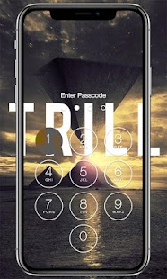 Trill Lock Screen - náhled