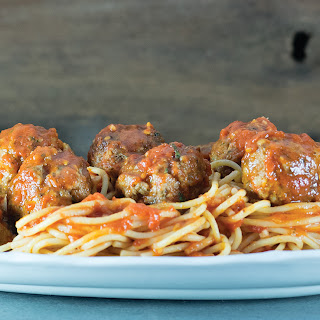 Rustic Spaghetti and Meatballs