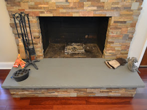 Photo: Natural Bluestone Hearth