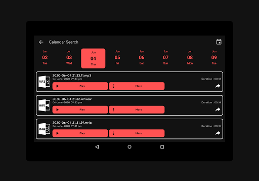 Audio Recorder screenshot 10