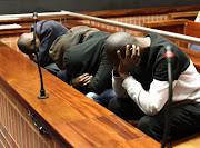 Elias Mankgane, Daniel Maswikaneng, Treasure Bonga and Themba Mkuwanazi appeared at the High Court sitting in Palm Ridge, on respective allegations of using an Uber account to kidnap, rape and rob multiple Johannesburg women in 2016.